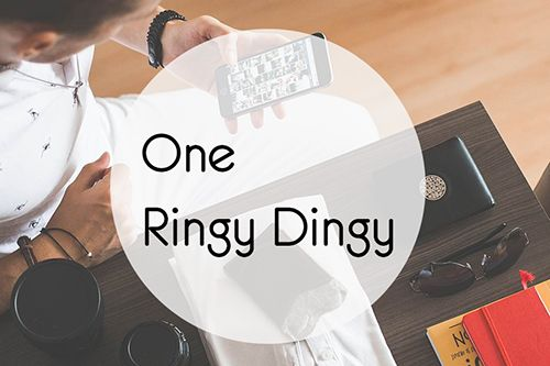 One Ringy Dingy